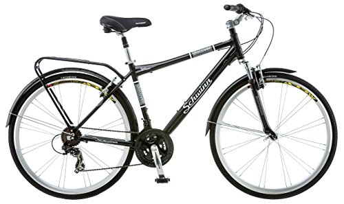 Schwinn Discover Men's Hybrid Bike ,Black