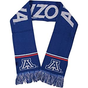 NCAA Glitter Scarf NCAA Team: University of Arizona Wildcats by Forever Collectibles