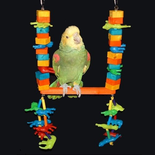 Cheap Tropical Safari Swing for Amazon Parrots / African Grey Parrots (Junior) (B003RADS0O)