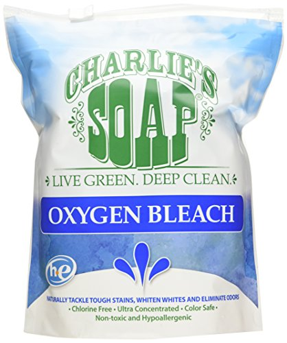 Charlie's Soap Oxygen Bleach, 2.64 Pound (Bleach Chlorine compare prices)
