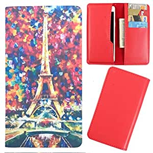 DooDa - For Spice Stellar 440 PU Leather Designer Fashionable Fancy Case Cover Pouch With Card & Cash Slots & Smooth Inner Velvet