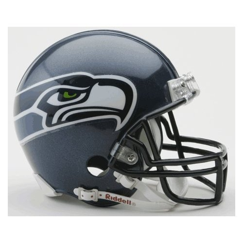 Seattle Seahawks 2002-2011 Throwback Riddell Mini Football Helmet at Amazon.com