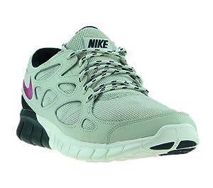 Nike Free Run 2, Herren Laufschuhe, grau/violett/anthrazit - 12.5