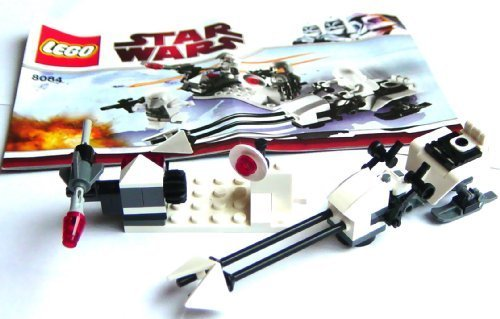 buy star wars  lego battle station speeder bike no mini figures box set only by english manual