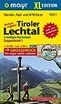 Tiroler Lechtal XL (2-Karten-Set): Wa...