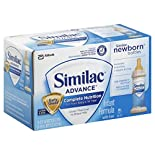 Similac Advance Infant Formula, with Iron, Milk-Based, Birth to 12 Months, Ready to Feed, 8 - 2 fl oz (59 ml) bottles 1 pt (472 ml)