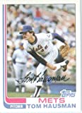 1982 Topps # 524 Tom Hausman New York Mets Baseball Card