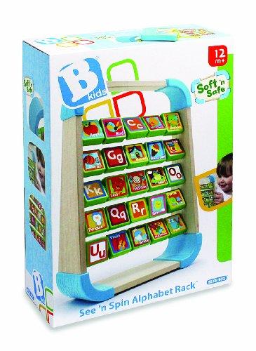 B kids Alphabet Rack, See N' Spin