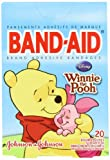 6 Pack of Band-Aids 20 Count Adhesive Bandages- Disney's Winnie the Pooh and Friends