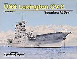 USS Lexington CV-2 Squadron At Sea (34005) e-book