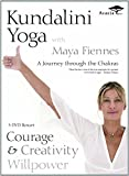 Kundalini Yoga with Maya Fiennes - A Journey Through the Chakras: Courage, Creativity and Willpower DVD Box Set - 3 Discs