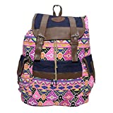 #1: Ruff Casual Stylish Multi Color Backpack College Backpack Girls Fashionable Shoulder Bag