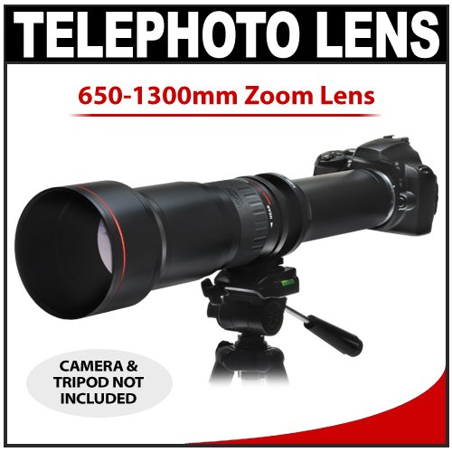 Vivitar 650-1300Mm F/8-16 Series 1 Telephoto Zoom Lens For Panasonic / Olympus Evolt E-30, E-300, E-330, E-410, E-420, E-450, E-500, E-510, E-520, E-600, E-620, E-1, E-3 Digital Slr Cameras