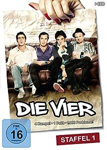 Die Vier - Staffel 1 (Les invincibles) [3 DVDs]