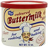 Saco Powdered Buttermilk, 12-Ounce Cans (Pack of 6)