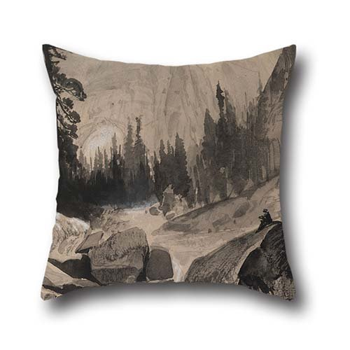 pillow-covers-of-oil-painting-thomas-moran-the-north-dome-yosemite-california-20-x-20-inches-50-by-5