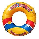 80CM Accesorios Piscina Agua Playa Adulto Inflable Anillo Natación Flotador
