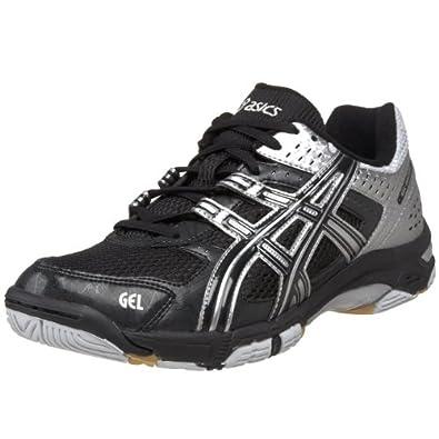 ASICS Men's GEL-Rocket 5 Volleyball Shoe,Black/Silver,14 M US
