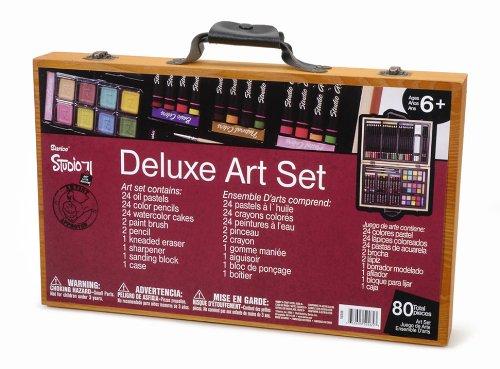 Darice 80-Piece Deluxe Art Set
