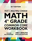 Common Core Math Workbook, Grade 4: Multiple Choice, Daily Math Practice Grade 4th