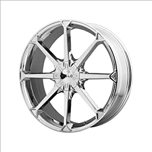 Helo HE870 Wheel with Chrome Finish (22×8.5″/5x120mm)