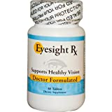 Eyesight Rx - An All Natural Herbal Eye Supplement for Eyesight Improvement and Vision Support and w/ Lutein, Zeaxanthin, Eyebright, Bilberry, Mucuna, and Beta Cerotene - 30 Vitamin Tablets - Developed by Dr. Ray Sahelian, M.D.