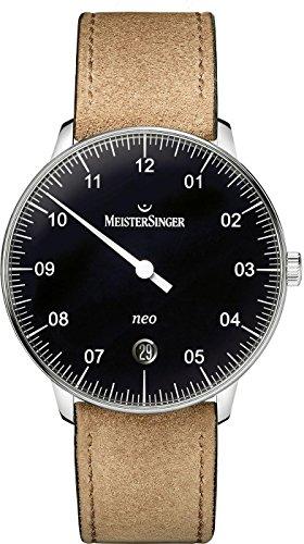 MeisterSinger Neo NE902N Reloj automático con sólo una aguja Clásico & sencillo