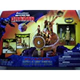 How To Train Your Dragon Movie Playset Battle & Collapse Catapult Includes Hi