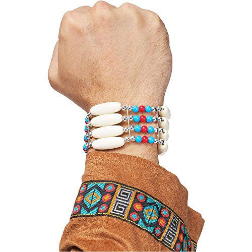 Native American Indian Warrior Bracelet - One Size