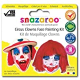 NEW SNAZAROO CLOWN THEME MAKEUP PACK CIRCUS FACE PAINT