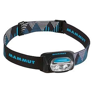 mammut 0001 T-Base Lampe Frontale - Noir (Black)