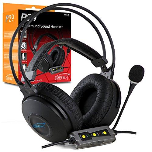 Gamekraft P29 Virtual 7.1 Surround Sound Headset - Pc