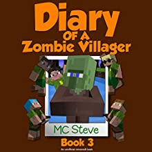 Christmas Break: Diary of a Minecraft Zombie Villager, Book 3 Audiobook by  MC Steve Narrated by  MC Steve