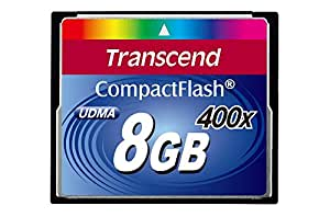Transcend Extreme-Speed Compact Flash (CF)  8 GB Scheda di memoria 400x