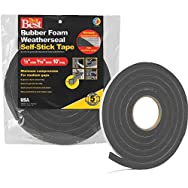 Do it Best Sponge Rubber Weatherstrip Tape-1/2X9/16
