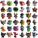 Moshi Monsters - Complete Set of 36 Series 1 Standard Moshlings - Angel, Blurp, Cali, Chop Chop, Coolio, Dipsy, DJQuack, Doris, Ecto, Fifi, Flumpy, Fumble, Gingersnap, Hansel, Honey, Humphrey, Jeepers, Kissy, Lady Meowford, Liberty, McNulty, Mr Snoodle,