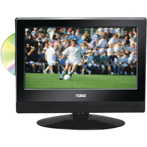 "Brand New Naxa 13.3"" Widescreen Led Hdtv With Built-In Digital Tv Tuner & Dvd Player"