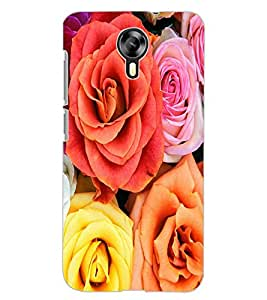 ColourCraft Beautiful Roses Design Back Case Cover for MICROMAX CANVAS XPRESS 2 E313