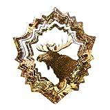 Iron Stop Mossy Oak Moose Wind Spinner