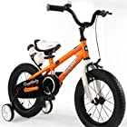 Royalbaby Kids Bikes 12 14 16 18 Avaliable, Bmx Freestyle Bikes, Boys Bikes, Girls Bikes, Best Gifts for Kids. . (Orange, 14 Inch)
