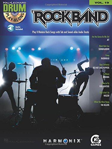 Drum Play Along Vol.19 Rockband CD (Drum Play-Along, Volume 19)