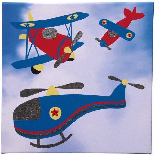 Helicopter and Airplane Wall Art - Transporters Collection