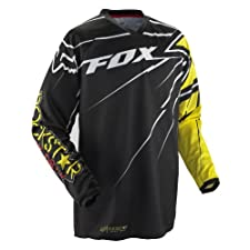 Fox HC Rockstar Jersey (Black/Yellow, Small)