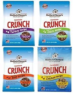 Stella & Chewy's Carnivore Crunch Variety Pack (Beef, Duck, Chicken, Turkey)