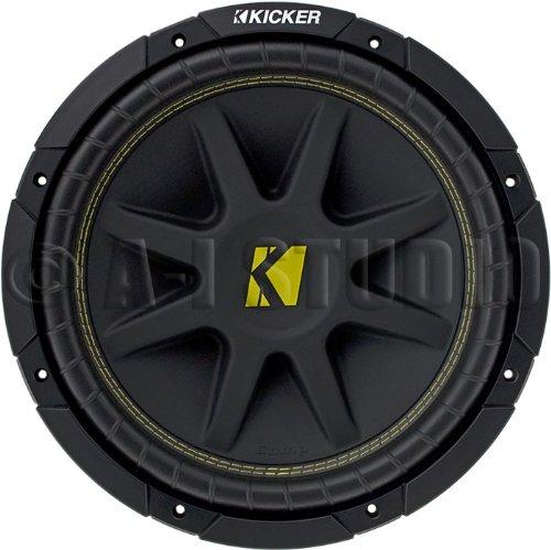 Kicker 10C108 Comp 10-Inch Subwoofer 8 Dvc (Black)