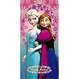 Disney Frozen Family Forever Elsa Anna Beach Pool Bath Cotton Towel by Providencia