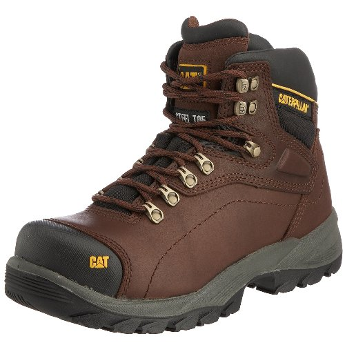 Cat Footwear Men's Diagnostic Hi S3 Safety Boot oak p711912 8 UK