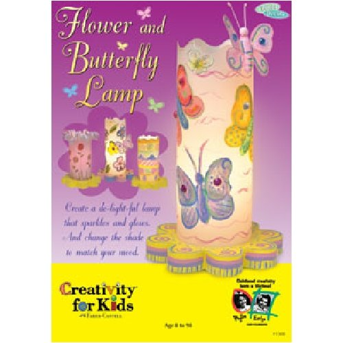 Creativity For Kids Flower & Butterfly Lamp ? front-858036