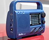 Kaito KA009 4-Way Powered Emergency Radio, Color Blue