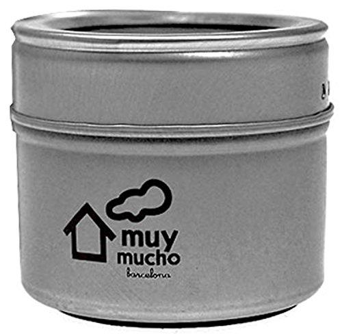 muymucho スパイスジャー 2WAY マグネット式 塩 コショー 調味料 保存容器 SS01